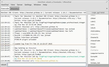 IRC клиенты для Linux