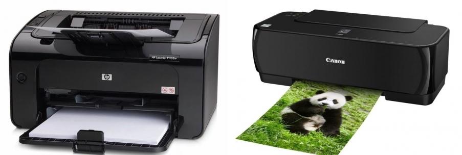 Принтер для дома: струйный или лазерный?