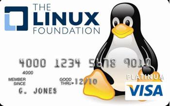 кредитная карта Linux
