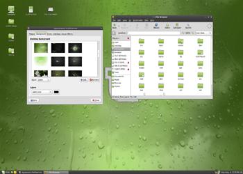 расширения Linux Mint 12