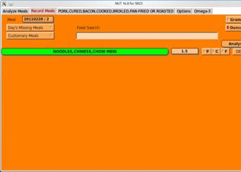 Обзор программы Nutrition Software