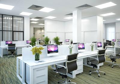 Современная мебель в офисном пространстве