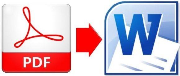 перевод PDF в Word