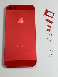 Красный экран IPhone5S, 6S PLUS
