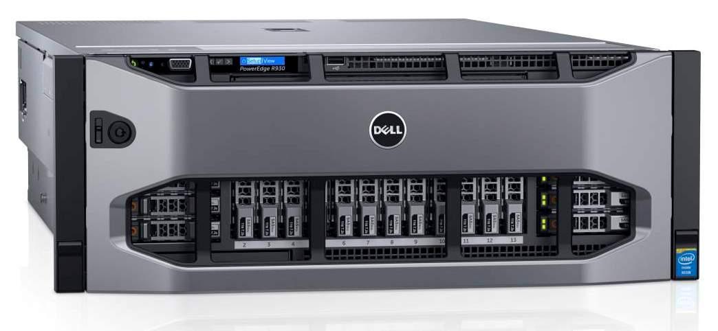 Современные стоечные серверы Dell PowerEdge R930