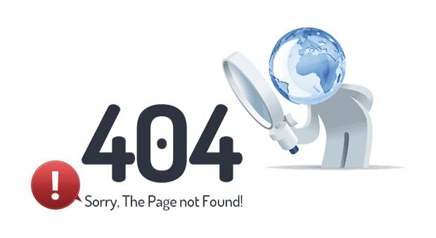 Створення сайтів, сторінка 404