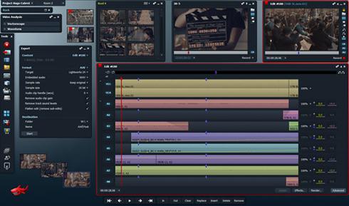 Lightworks - видеоредактор профессионального уровня для Linux