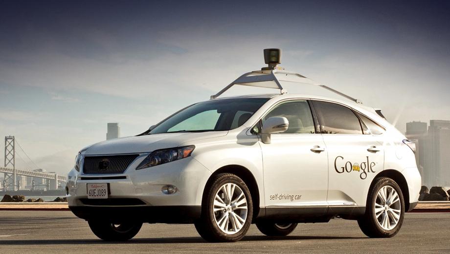 Робомобиль от Google испытан на городских дорогах