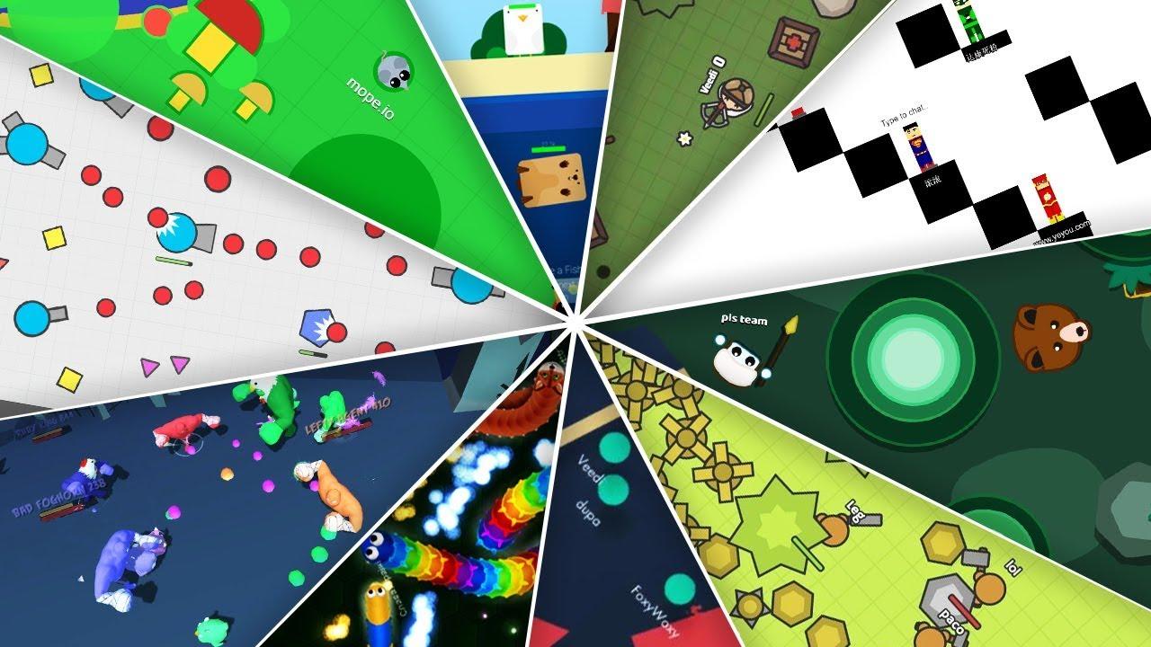 Новый вид браузерных игр – io